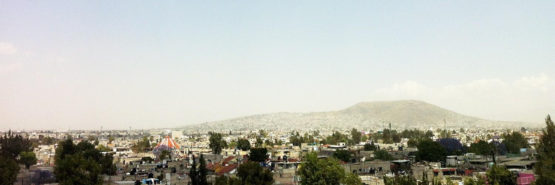 Una mirada al Valle de Chalco del Estado de México. Lugar donde se encuentra el  Centro Comunitario Juan Diego