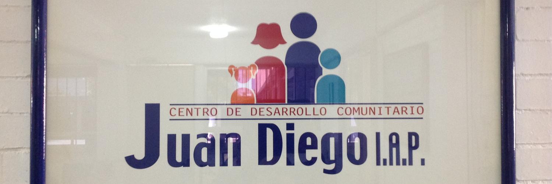 Logotipo que refleja integración familiar en el  Centro Comunitario Juan Diego