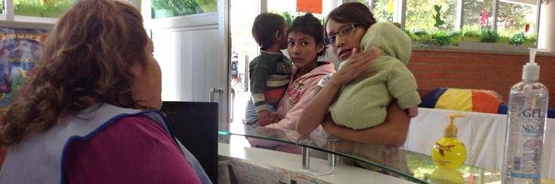 Guarderias para los hijos de padres trabajadores en Centro Comunitario Juan Diego